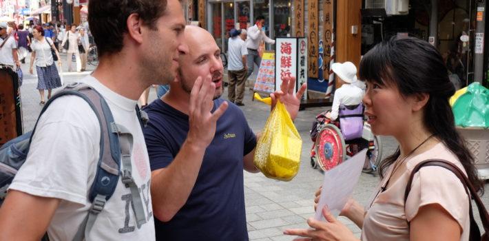外国人に街頭インタビュー!「どうすれば飲食店でもっと注文したいと思いますか?」