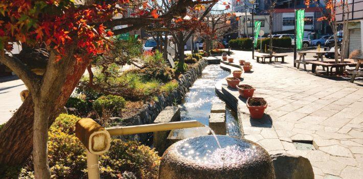 井戸と湧水の街、松本