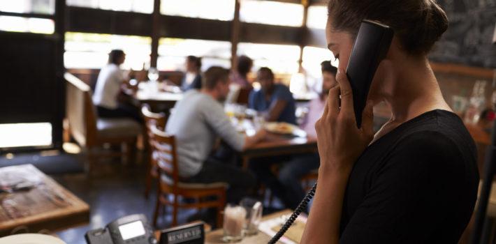 【高級飲食店向け】電話で予約を受ける際の接客英語(上級編)
